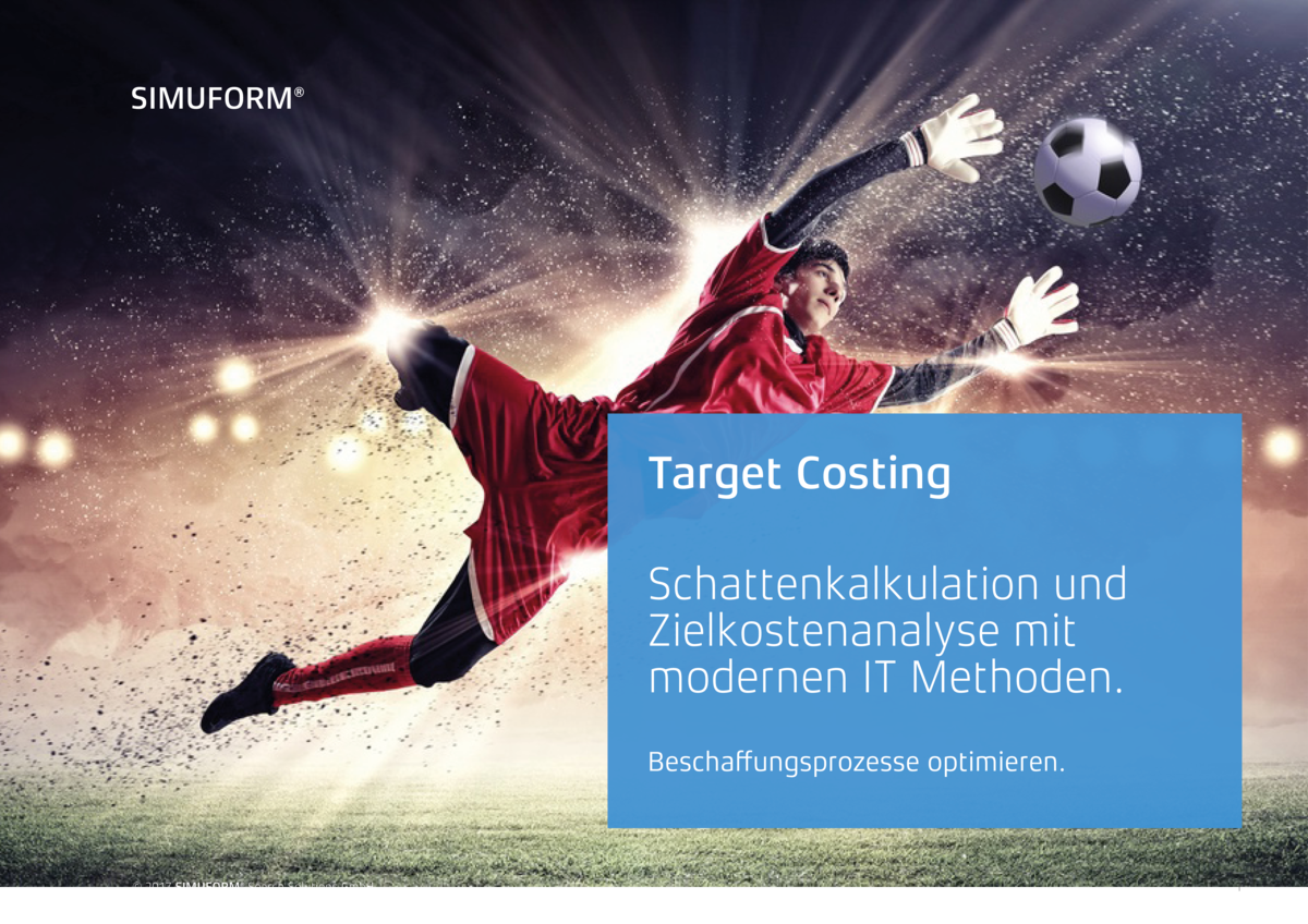 Target Costing mit SIMILIA BOM Compare Process