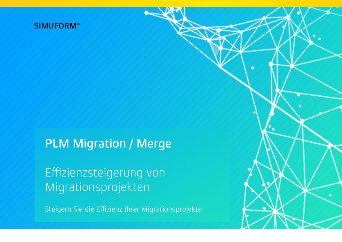 Download Broschüre Just-in-time PLM Migration